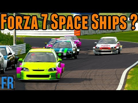 Forza Motorsport 7 Space Ships ?