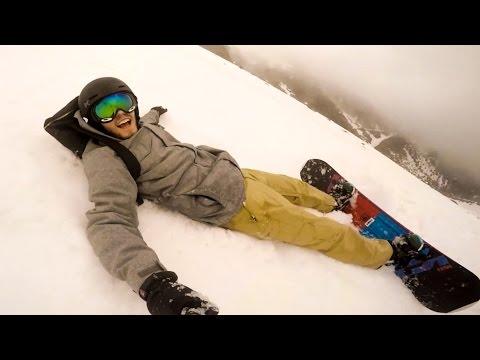 Snowboarding FAIL!