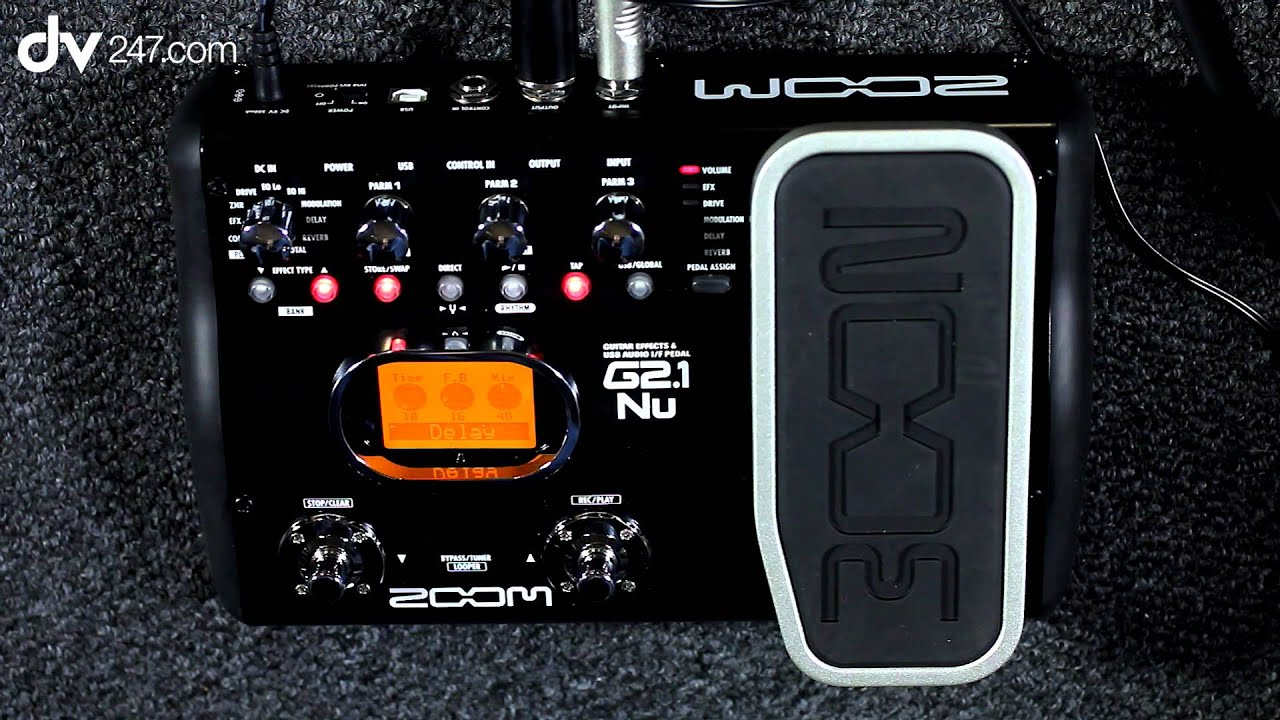 zoom g2 1nu guitar multi effects pedal youtube. Black Bedroom Furniture Sets. Home Design Ideas