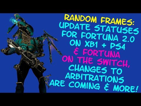 Warframe - Arbitration changes coming, Current statuses for XB1/PS4/Switch next updates & more! thumbnail