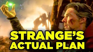 Doctor Strange's FULL PLAN Explained! Avengers Infinity War & Avengers 4 Theory!