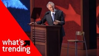 Clint Eastwood Debates Chair and Top 5 YouTube Videos for August 31, 2012