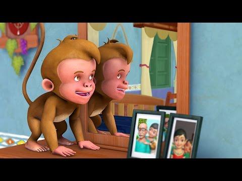 Ek Bandar   Hindi Rhymes for Children   Infobells