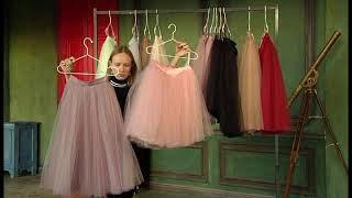 Про юбки-пачки для Первого канала. Интервью для телевидения