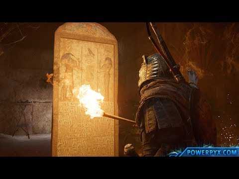 Assassin's Creed Origins – Tomb of Menkaure Walkthrough & Location (Pyramid of Menkaure Tomb)