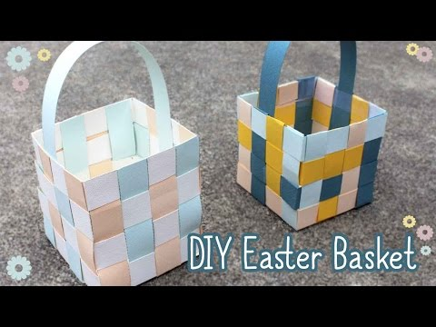 How To Make An Easter Basket 🐰