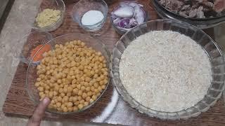 best recipi of palao chana boti palao