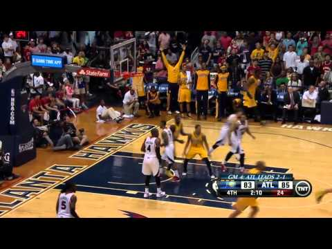 Indiana Pacers vs Atlanta Hawks Game 4 | April 26, 2014 | NBA Playoffs 2014
