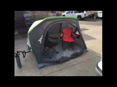 Woods™ Atmospheric Air Frame Shelter, 2-Person - Chris' Testimonial