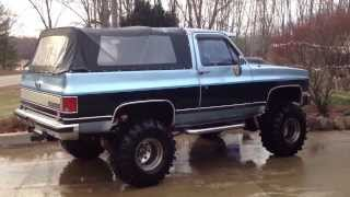 1990 468ci Big Block Chevy K5 2500 4X4 Blazer