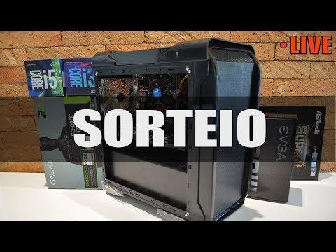 LIVE: SORTEIO PC GAMER i3 8100 + GTX 1060 !!!