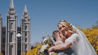 Utah Wedding Video | Salt Lake Temple | Oakley and Cameron