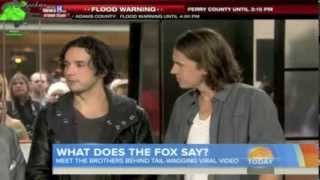 "Ylvis on ""Today"" morning show (USA)"