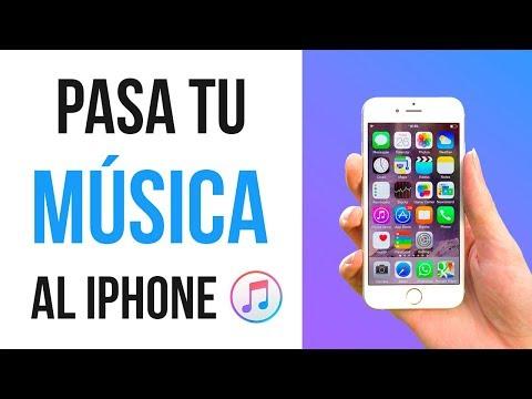 Cómo pasar MÚSICA al iPhone 2018