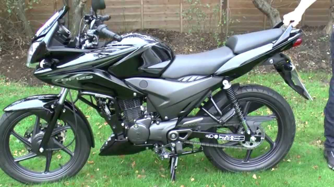 Honda Cbf125 Review Funnycat Tv