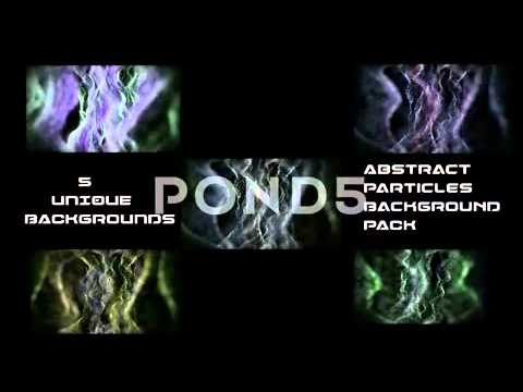 Abstract Particle Waves Pack