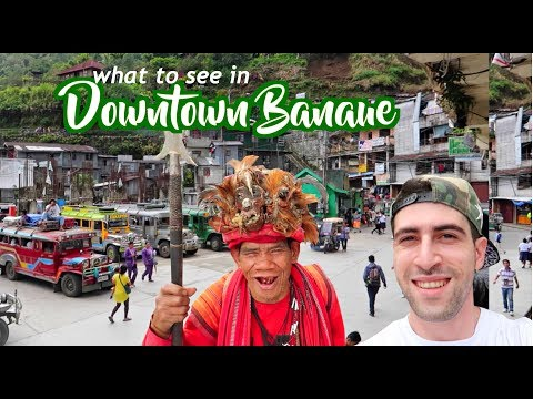 IFUGAO Tribe ELDERLY in TRADITIONAL COSTUME! | Public Market & Grocery Shopping!!