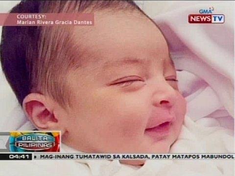 Larawan ng anak nina Dingdong at Marian na si baby Maria Letizia, kinagiliwan ng netizens - 동영상