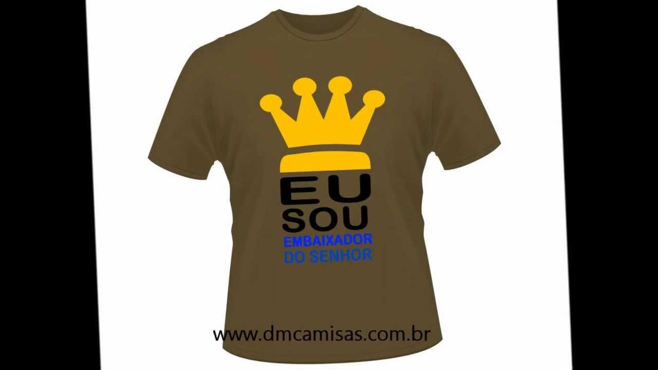b9c719c4add Camisetas Evangelicas Gospel | DM CAMISAS