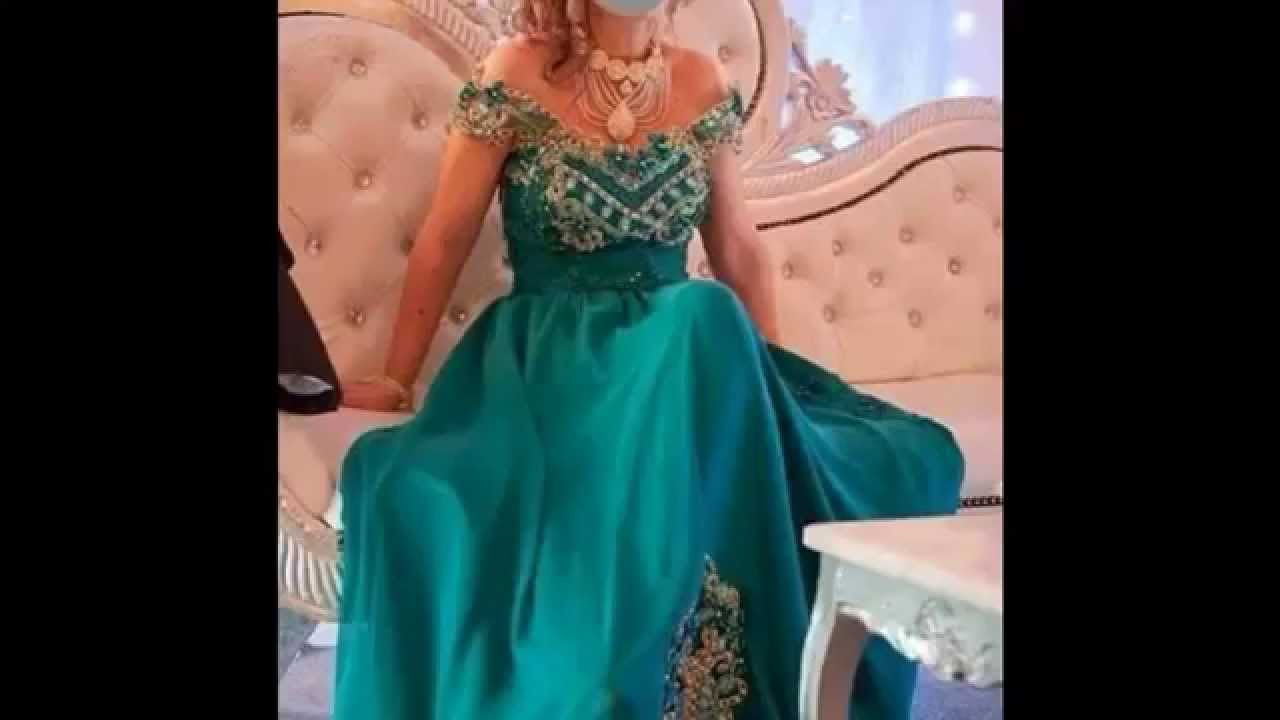 Tenues traditionnelles algerienne youtube