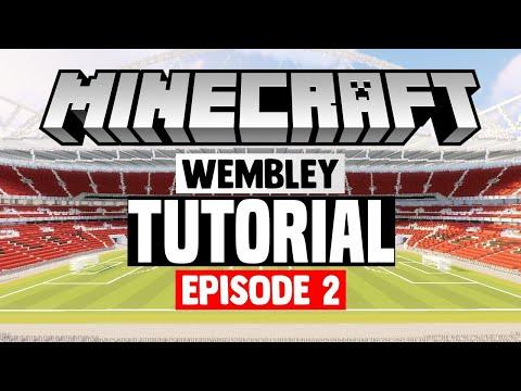 Minecraft Stadium Builds: Wembley Stadium [2] Pitch/Stands