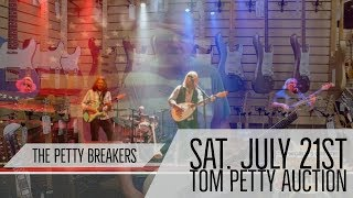 Norm talk about The Petty Breakers & the upcoming Tom Petty Memorabilia Auction