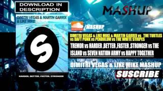 DV&LM - Happy Together vs. Tremor vs. Harder Better Faster Stronger vs. The Island (DV&LM Mashup)
