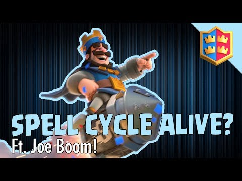 CAN YOU SPELL CYCLE IN THE NEW META!? Sort off... Ft Joe Boom from Cast Royale - Clash Royale