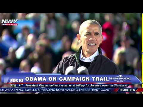 FNN: Obama Campaigns for Hillary Clinton in Cleveland (and Gives Lebron James a Shout Out) - FULL