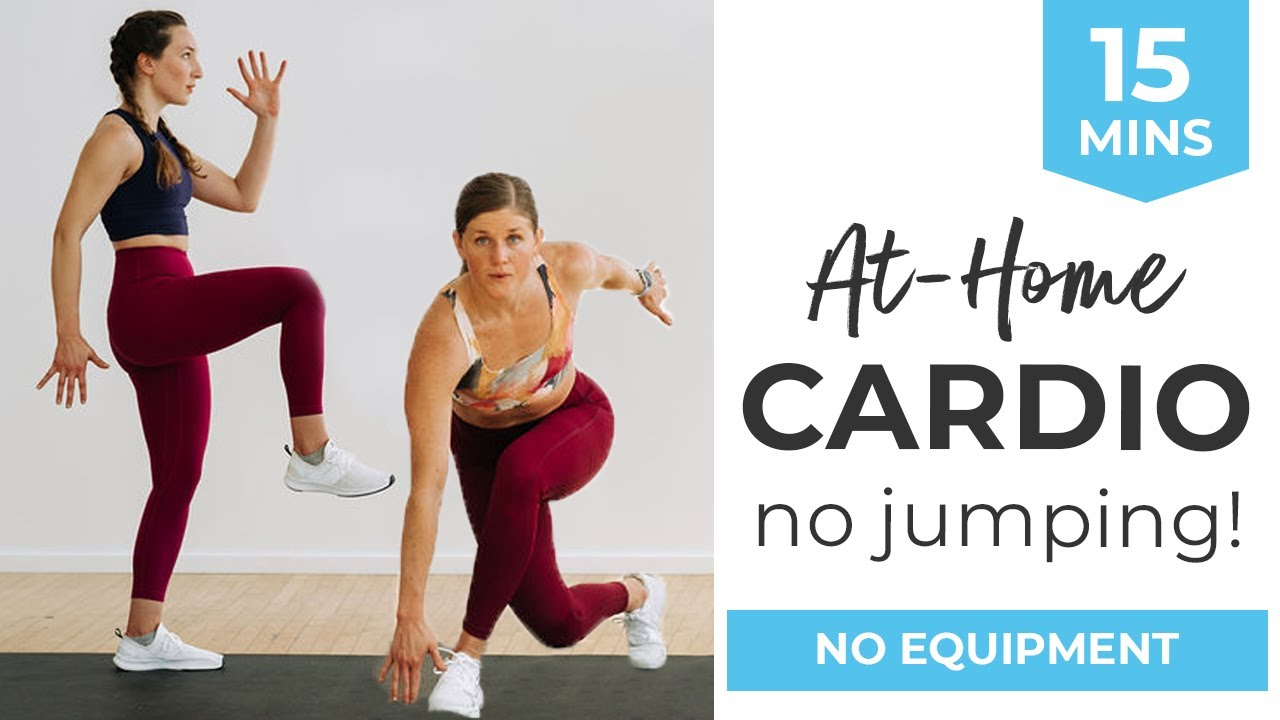 Download 15-Minute Cardio Workout At Home (No Equipment, No Jumping)