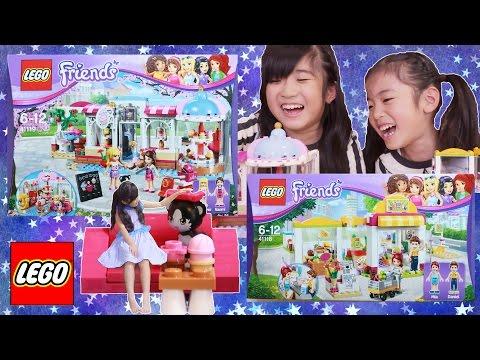 LEGO Friends カップケーキカフェ& ハートレイクスーパーマーケット