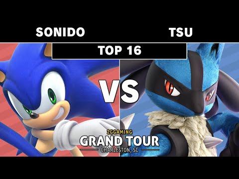 2GG GT South Carolina - Typo   Sonido (Sonic) VS Tsu (Lucario) - Smash Ultimate - Top 16