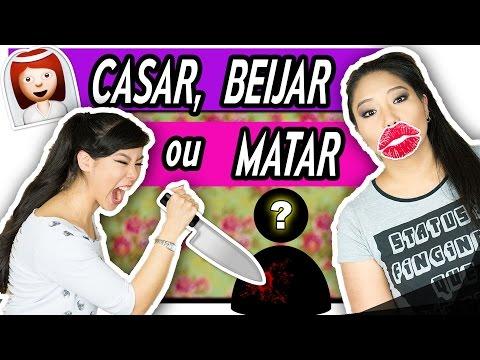 CASAR, BEIJAR OU MATAR | Blog das irmãs