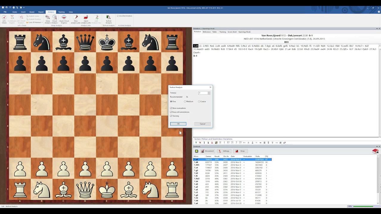 ChessBase 15 Chess Database Management Software Program Help