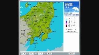 2012年04月3日 東京電力 雨量・雷 観測情報 thumbnail