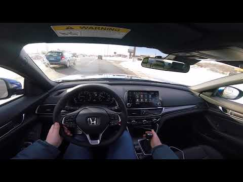 First Impressions: Adaptive Cruise Control with a Manual Transmission - 2018 Honda Accord Sport