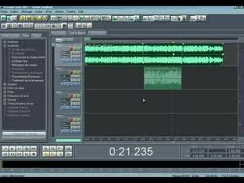 Réaliser une intro musicale, bref, un mix de voix et musique
