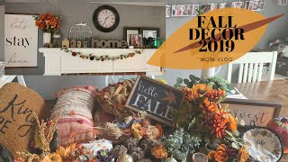 FALL DECOR 2019 / DECORATE WITH ME / HOME DECOR / FALL 2019 / MOM VLOG / WITHLOVEKELLIE