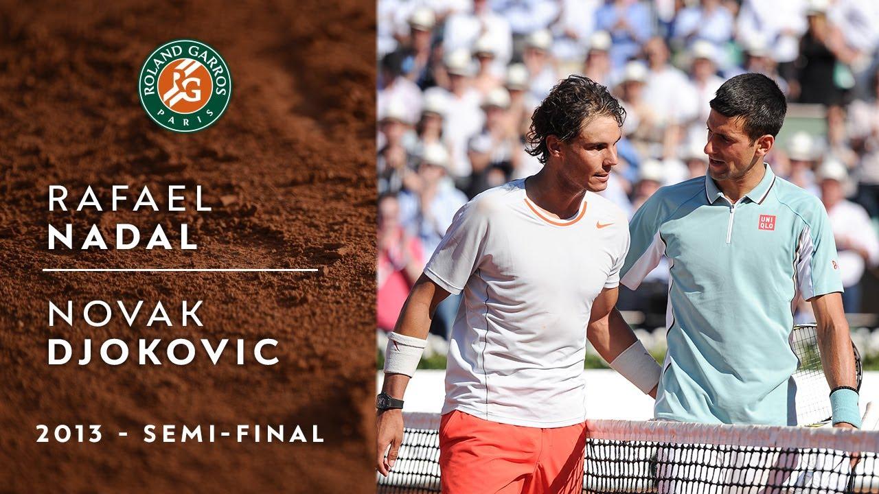 Rafael Nadal Vs. Novak Djokovic: Their French Open Semifinal By ...