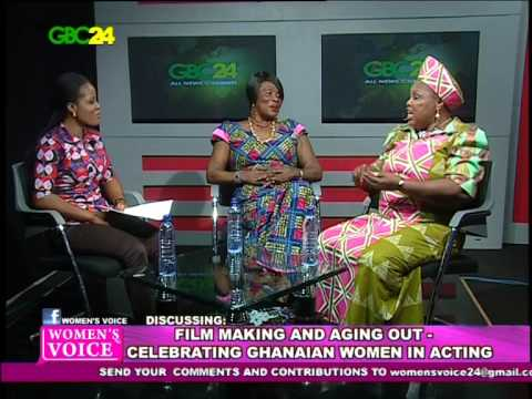 FILM MAKING AND AGING OUT-CELEBRATING GHANAIAN WOMEN IN ACTI