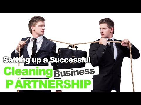 Making Sure Your Cleaning Business Partnership is a Complete Success
