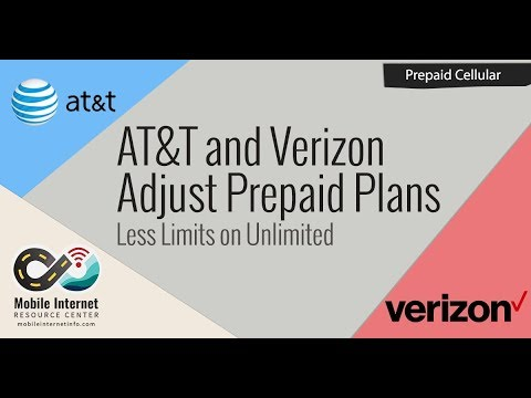 AT&T and Verizon Adjust Prepaid Unlimited Smartphone Plans, Add More Value