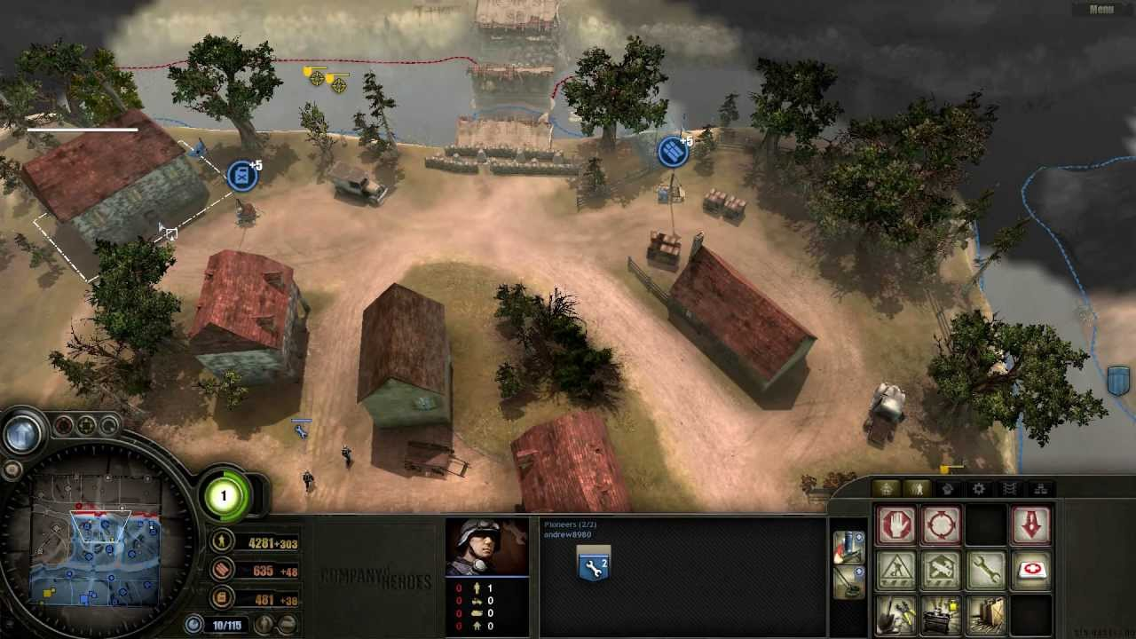 company of heroes achelous river