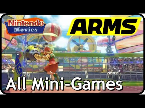 Arms - All Mini-Games