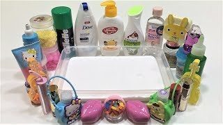 Mixing Random Things into Glossy Slime | Slimesmoothie | Satisfying Slime Video Part 2 !