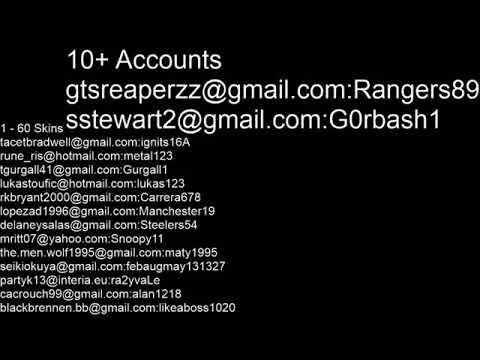 توزيع حسابات فورت نايت مجانا في 20 ستور بالمقطع احضره كامل Youtube