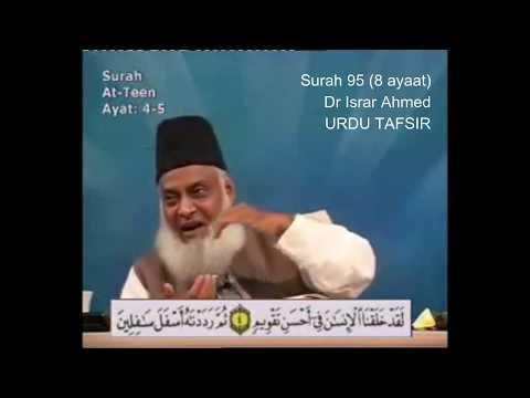 95 Surah Tin Dr Israr Ahmed Urdu