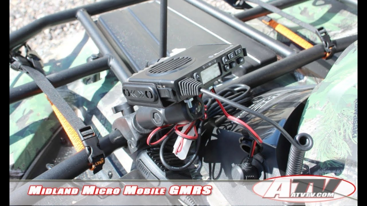 ATV Television Product Review - Midland Radio's Micro Mobile GMRS