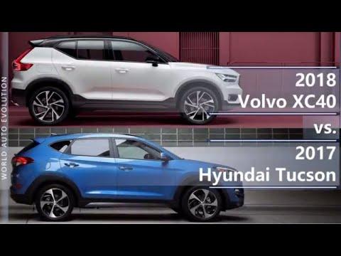 2018 Volvo XC40 Vs 2017 Hyundai Tucson (technical Comparison)