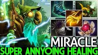 MIRACLE [Necrophos] Super Annyoing Healing Carry Hard Game 7.25 Dota 2